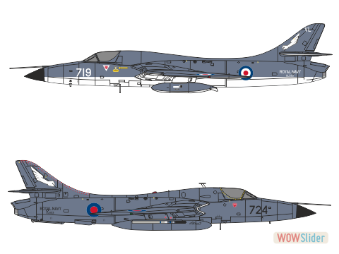 WBA44005 - Hunter T.8M - Royal Navy Sea Harrier Trainer conversion