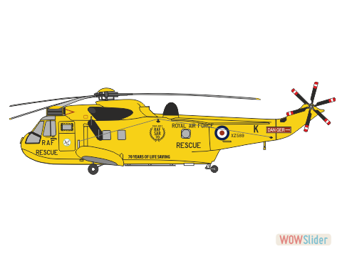 WBA44007 - Sea King 202 Sqn. RAF - 70 Years of Life Saving conversion
