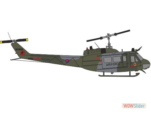 WBA72161 - UH-1H Royal New Zealand Air Force conversion